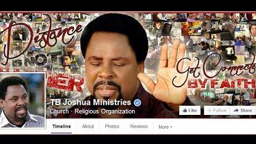 Profil pastora na Facebooku