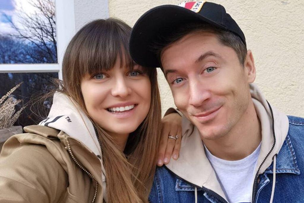 Anna i Robert Lewandowscy, instagram.com/annalewandowskahpba
