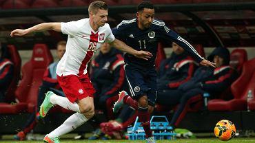 Mecz Polska - Szkocja (0:1). Łukasz Piszczek