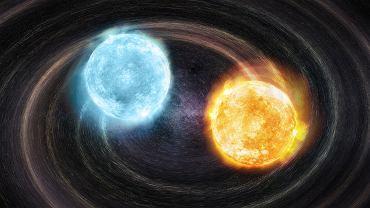 Naukowcy wykryli nowe źródło fal grawitacyjnych. To dwie martwe gwiazdy tuż przed kolizją