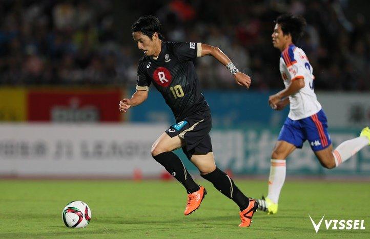 Ryota Morioka jeszcze w barwach Vissel Kobe