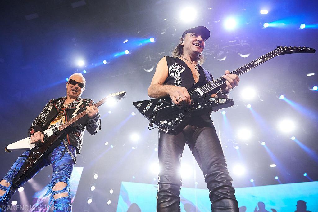 Koncert Scorpions w Trójmieście. Rudolf Schenker i Matthias Jabs