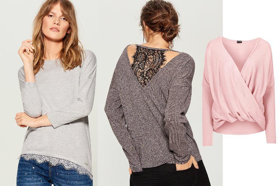 Swetry damskie do pracy