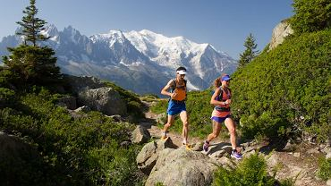 The North Face Team na trasie Ultra Trail du Mont Blanc