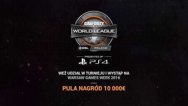 Turniej COD na Warsaw Games Week 2016