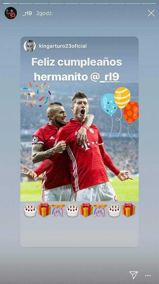 Przyjaciele składają życzenia Robertowi Lewandowskiemu z okazji 30-tych urodzin