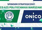 ONICO sponsorem strategicznym AZS Politechniki Warszawskiej
