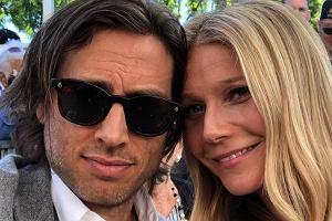 Gwyneth Paltrow z mężem