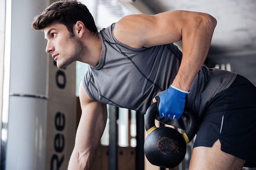 Męskie stroje sportowe