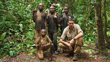 Tomek Michniewicz w Kamerunie u plemienia Baka/ Fot. Archiwum prywatne Tomka Michniewicza