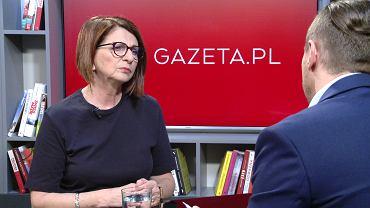 Julia Pitera w porannej rozmowie Gazeta.pl