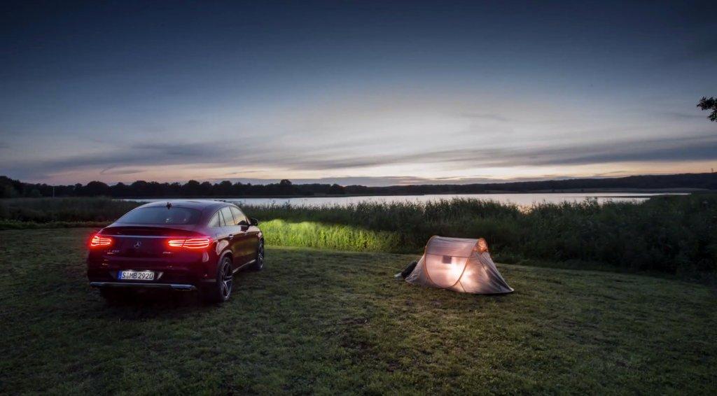 Mercedes GLE Coupe i Bałtyk