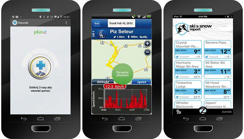 Zdjęcie numer 2 w galerii - Aplikacje w telefonie, które przydadzą ci się na nartach