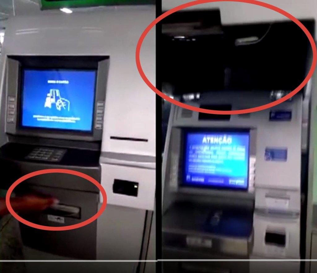 Nakładka na bankomat? A może pół bankomatu!?