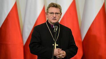 Zwierzchnik Kościoła Ewangelicko - Augsburskiego w RP biskup Jerzy Samiec