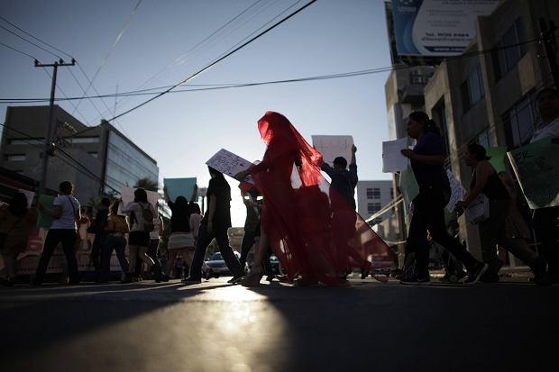 ''Marsz szmat'' w Meksyku. Uczestniczki protestują przeciwko dyskryminacji i przemocy wobec kobiet