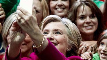 Hillary Clinton w czasie kampanii prezydenckiej