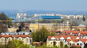 Kraków od strony Zakrzówka
