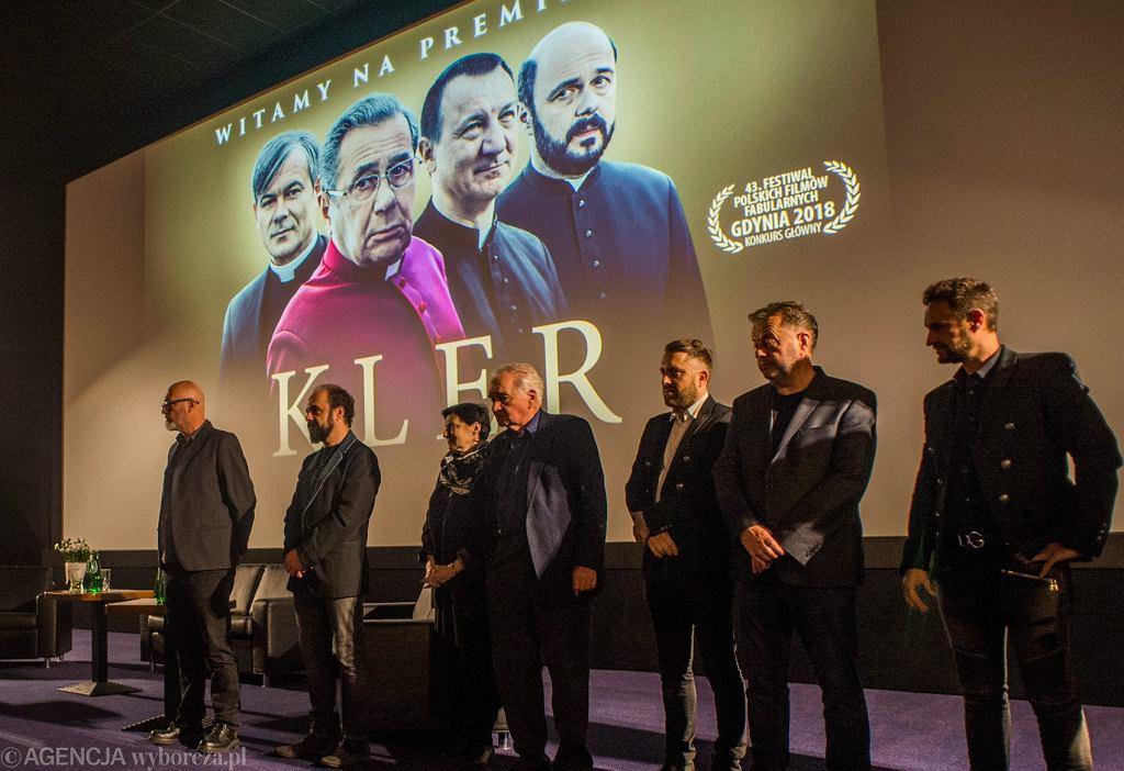 Prapremiera filmu 'Kler' w Bydgoszczy, 23.09.2018
