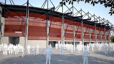 Najnowsze wizualizacje stadionu opublikowane przez Pogoń SzczecinSA