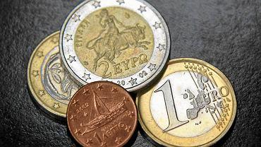 Monety Euro.