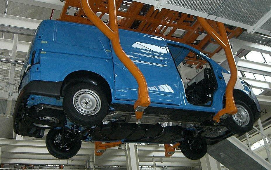 Fabryka samochodów użytkowych VW w Hanowerze