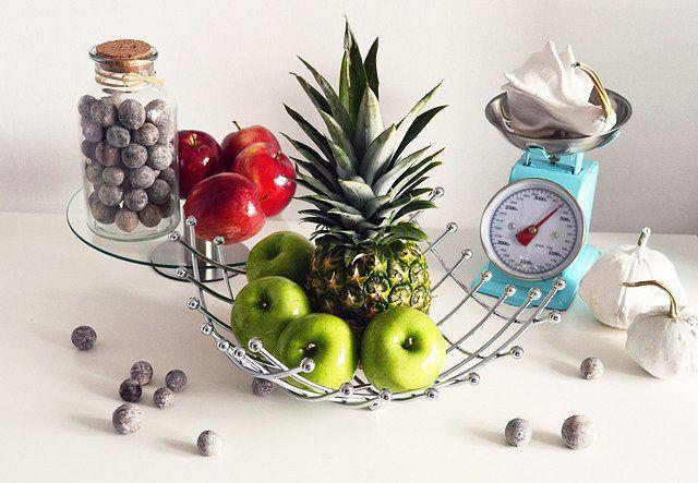 Nowoczesna patera na owoce
