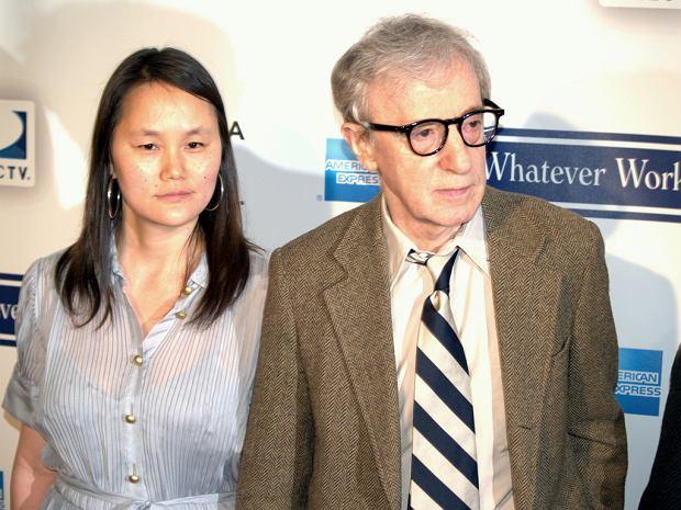 Woody Allen ze swoją żoną, Soon-Yi Previn