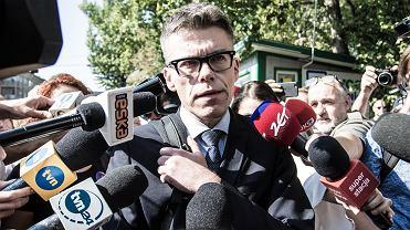 Sędzia Igor Tuleya stawia się na wezwanie KRS. W siedzibie rady przesłucha go rzecznik dyscyplinarny. Warszawa, 21 września 2019