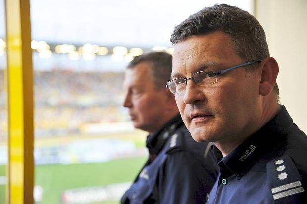 Stanisław Panek, komendant miejski policji w Gorzowie