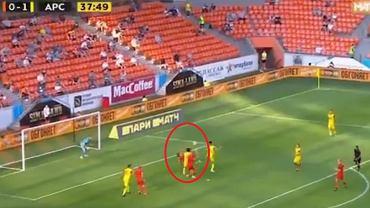 Kosmiczny gol przewrotką Erica Bicfalviego w lidze rosyjskiej