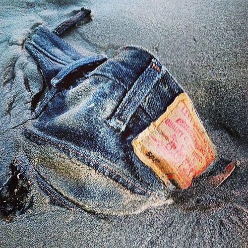 moda męska, jeansy, levis