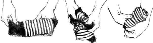 akademia stylu, moda męska, Akademia stylu: sztuka układania ubrań, Skarpetki