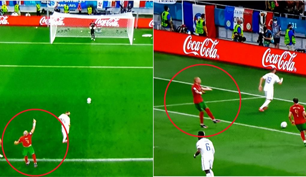 Pepe, Karim Benzema i Rui Patricio