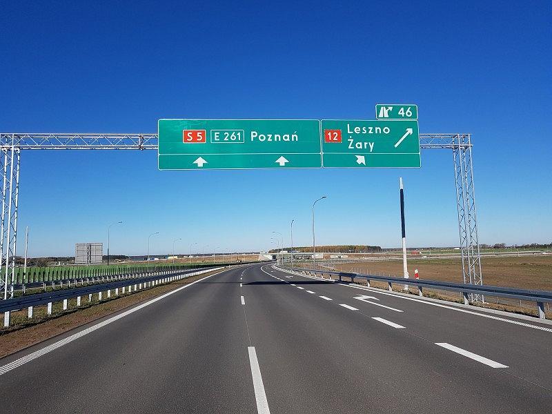 droga ekspresowa S5, odcinek Radomicko-Leszno
