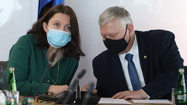 Joanna Lichocka i Marek Suski