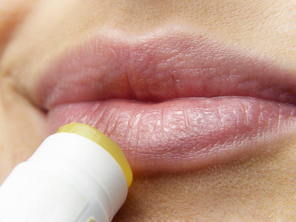 Opryszczka najczęściej pojawia się na ustach