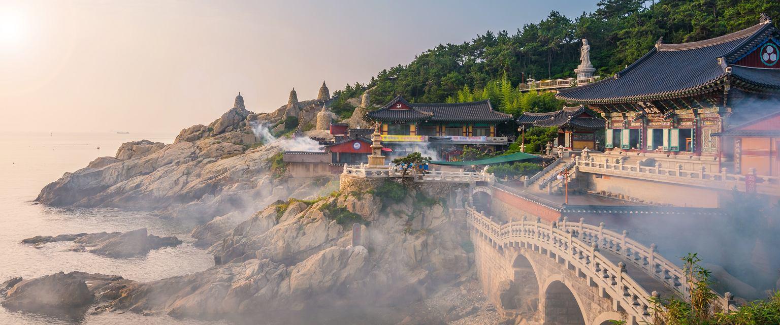 Świątynia Haedong Yonggungsa w Pusan, Korea Południowa (fot. Shutterstock)