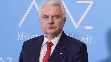 BMinister zdrowia Lukasz Szumowski o epidemii koronawirusa w Polsce