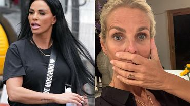 Wściekła Katie Price uderza w Urlikę Jonsson, która skrytykowała jej operacje plastyczne