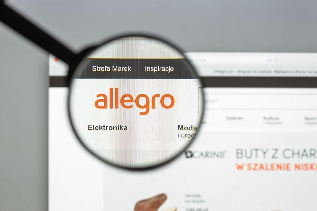Allegro (zdjęcie ilustracyjne)