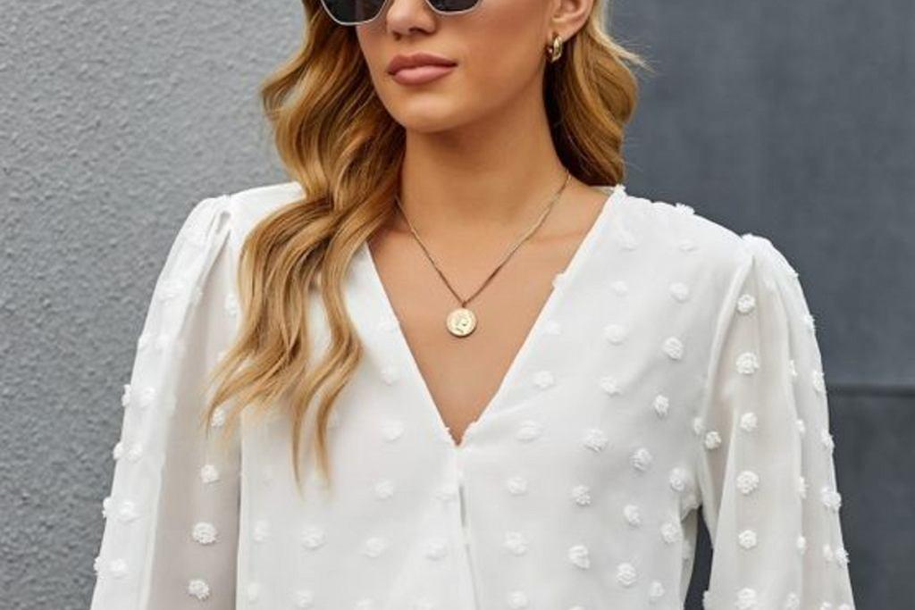 bluzka kopertowa