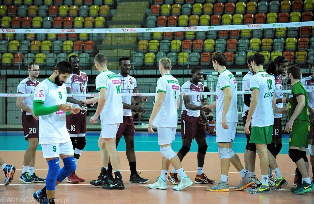 Sparing AZS Częstochowa - Katar.