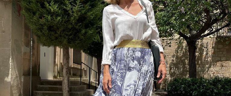 50-tki pokochają te spódnice! Są piękne i zakryją odstającą oponkę