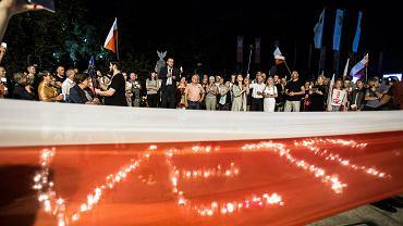 Piąty dzień protestów. Demonstracja lubelskiego KOD