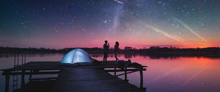 'Myślę sobie: Boże, jaki przypał, mówię, że będą spadały gwiazdy, a on widział pięć'