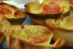 Minipizze z tortilli