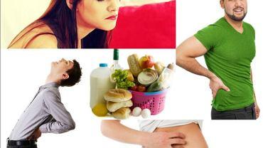 Ból brzucha, pleców, choroby nerek, problemy skórne - to wszystko mogą być skutki zakwaszającej, nieprawidłowej diety