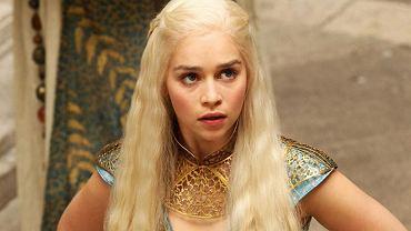 Emilia Clarke w roli Daenerys Targaryen