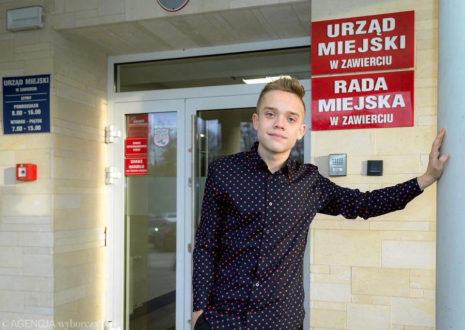 Jakub Kosoń, młodzieżowy zastępca prezydenta Zawiercia